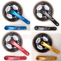 Wholesale JianKun MTB Mountain Bike Crankset T Chainwheel mm Crank For Bicycle Groupset Parts Speed Colors