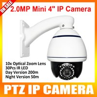 hd ip camera - 1920 HD MP Vandalproof IP66 mm Lens Onvif P2P CCTV p inch Mini PTZ IP Network Speed Dome Camera Cms smartphone