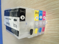 Wholesale 1 Set Refillable Ink Cartridges For HP932 for HP XL XL Ink Cartridge refills for HP Officejet