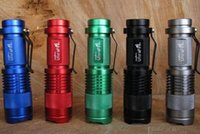 mini led flashlight - Mini Q5 Flashlight LM CREE Q5 LED Zoom In Out Torch Mode