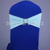 aqua band - Aqua Green Lycra Chair Band with Heart Shape Buckle Double Layer Lycra Band for Weddings Events amp Party Decoration
