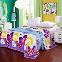 bed sheet and blankets - twinextralong Happy Moon and stars bedset Fastness Colorful Pilling Resistance bedset bedline Blankets Layers Velvet Plaid Patterns Bedding