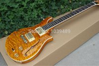 Wholesale new special edition guitars Dweezil zappa limited private stock new arrival blue sea tiger guitar chrome hardware top