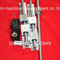 ballscrew set - 1 ballscrew RM1605 BK BF12 couping SBR16 SET for CNC
