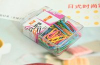 belt outlet free shipping - boxes of color back to shape quality paper clip belt cover paper clips factory outlet for office work15090102