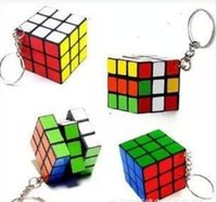 Educational Supplies - 2015 free shopping cm key buckles rubik s cube ABS cheap educational toys booth in supply