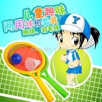 Bádminton por mayor-Bebé tenis establecer raqueta boy deportes al aire libre entre padres e hijos juguetes