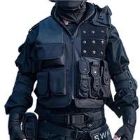 Wholesale Fall Male SWAT FBI Military Army Tactical Vest Men s Outdoor training waistcoat sleeveless jacket Men many multi pockets hunting vest
