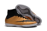 acc style - 2016 Mercurial Superfly FG youth Soccer Shoes indoor magista High Ankle America Football Boots ACC Men indoor Superfly CR7 Cleats styles