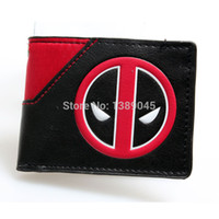 animated purses - Deadpool wallet animated cartoon fashion brand purse Young boys and girls purse personality Man purse DFT
