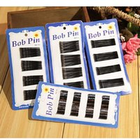 Wholesale Black Color classic daily use wave shape clips black steel wire hairpin clip hair accessory styling tools free ship