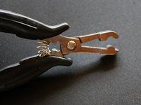 súper alicate de pelo de calidad -HEAT pegamento de la fusión vinculación de la queratina / anillos micro Eliminación alicates para las extensiones