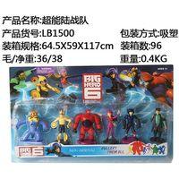 Wholesale New Arrivel Set Baymax Big Hero Cartoon Movie Action Figures Toys Multicolor Action Figure Toys Cartoon Figures Toys for Children