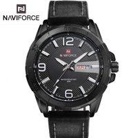 auto forms - 2016 Promotion Limited Edition Men s Black Luminous Dial Waterproof Sport Watches Men s Casual Leather Belt Tide Male Form New Military