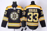 Wholesale Bruins Zdeno Chara Black Home Jersey Black Hockey jerseys with C Patch High Quality Men Ice Hockey Uniforms Embroidered Name and Number