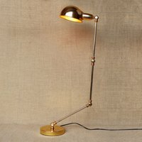 arm installing - Industrial Retro Iron Long Arm Desk Lamp Study Bedroom Bedside Lamp Simple and Easy to Install Warm Thanksgiving Christmas gifts