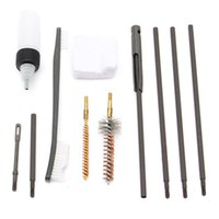 Wholesale New Arrival Hot Sale Set LR Rifle Gun Cleaning Kit Set Rod Nylon Brush Cleaner