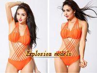 Wholesale 2015 new European More rope string bikini sexy swimwear brand swimwear