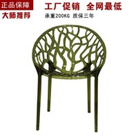 Wholesale Crystal chair back chair flowering plants transparent crystal hollow hollow chair chair chair chair transparent