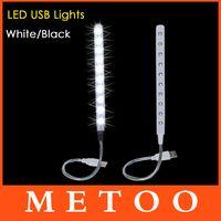 Cheap Super Cheap USB 10 LED Light Bright Soft Light Flexible usb lamp For Keyboard Read Notebook PC Laptop usb gadget 1pcs lot