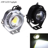 auxiliary motorcycle lights - 10W LED Spotlight Car Truck Motorcycle Auxiliary Headlight V DIY eagle eye Fog lamp Daytime reverse backup light