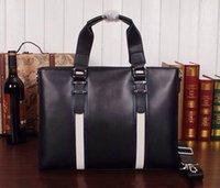 Wholesale 2015 hot Big discount Silt Pocket Zipper men Shoulder Bag Casual Cowhide Man Commercial Handbag Messenger Briefcase