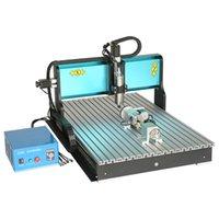 OKACC 2200 3 оси Гравировка Машины с водяным охлаждением двигателя шпинделя Wood ЧПУ завод CNC Engraver с порт USB 2.0 6090