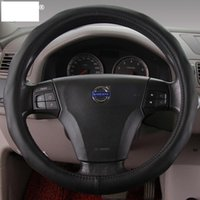 applied services - Volvo Steering Wheel Covers Apply to XC60 XC90 S80L S60 V60 V40 c30 High Quality and Good Service