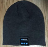 Wholesale Warm Hat Wireless Bluetooth Smart Cap Headphone Headset Speaker Mic Listening music And Answer The Call