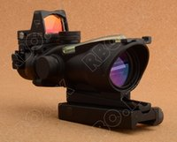 trijicon - Trijicon ACOG x32 Riflescope Green Optical Fiber adn Red Dot sight scope M9986