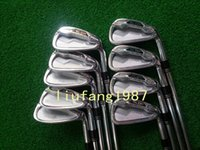 Wholesale 2014 golf clubs SLDR irons set PAS with dynamic gold steel S300 shaft golf irons free headcover