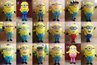 DHL Cattivissimo Me <b>Minion costume</b> della mascotte per adulti Cattivissimo Me Mascotte 17 stili di alta qualità Nuove