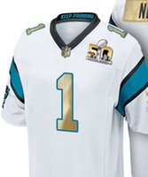 bowling games - Cheapest SUPER BOWL th L Panthers Men Football Jerseys Cam NEWTON Elite Limited Game Custom Stitched White