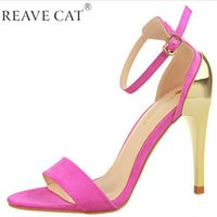 ankle cuff sandals - LADIES STILETTO ANKLE CUFF STRAP SUEDE OPEN TOE WOMEN S HIGH HEEL STRAPPY SANDALS DRESS SHOES Fashion Sexy