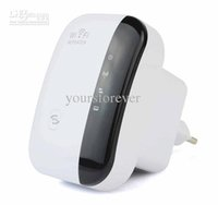 Wholesale Wireless N WiFi Repeater n Router Signal Range Extender Amplifier Mbps D3168B