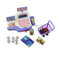 baby registers - Hot Essential Baby Child Educational Toy Pretend Play Register Scanner Supermarket Cash Toys Educational Toy