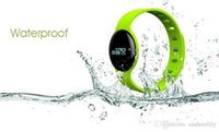 android list - New list Waterproof Bluetooth4 GPS Smart Woman and Mens SOS Sport Pebble Bluetoo Watches Silicon Bracelets for Apple IOS and Android Phone