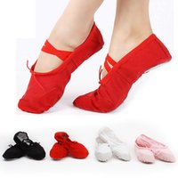 Wholesale Ballet Dance Shoes For Girls Boys And Adult Ladies Soft Sole Comfortable Size Based on the Actual Length Color Available ZJ16 S03