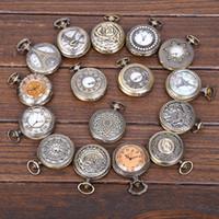 2015 de la manera de la manera hueco del bronce del fob de bolsillo del collar la mejor calidad pendiente del collar 10Pcs / Lot libera la nave