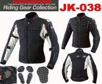 Wholesale 2016 New KOMINE JK GTX F JKT TITANIUM MOTO Racing motorcycle clothing Jacket jersey multifunction Motorbike jackets Titanium Shoulder