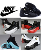 pu shoes - 2016 Nike Air Jordan Mens Basketball Shoes Original Quality Taxi Playoffs Gamma Blue Jordans Retro Shoes dan With Shoe Box