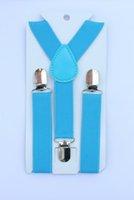 Wholesale Turquoise Color Suspender