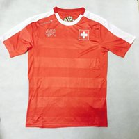 Wholesale New best thai quality Switzerland home soccer jerseys euro cup national team football shirt