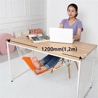Wholesale Portable Mini Foot Rest Stand Desk Feet Hammock FUUT Confortable Office Feet Hammock Orange EJ872426