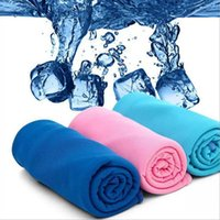 Wholesale 80 cm Multipurpose Cold Towel Summer Style Sport Cooling Ice Towel Exercise Sweat Sports Cooling Towel For Children Adult