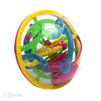 Wholesale Puzzle Toys D Space Travel Intellect Ball Barriers Balance Maze Game Kids IQ Trainer Games Toys