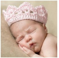 Wholesale 2015 Baby headband crown headdress colorful chic wool headband Baby accessories Photo props W004B