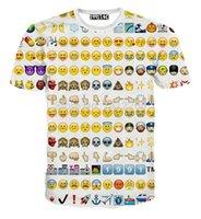 angry t shirt - Emoji new fashion angry Harajuku Expression Men short sleeve D Print Galaxy Funny t shirt Women s Expression t shirts