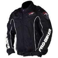 Wholesale New PRO BIKER Men s Motorcycle Racing Cycling Jaqueta clothing Motocross Wear motorcycles Suit Motorbike Jackets