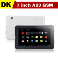 7 android 4.0 tablet - 7 inch G GSM Android Allwinner A23 M GB dual camera Bluetooth GSM phone call tablet with sim card slot tablets pc